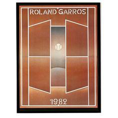 FOLON. Roland Garros 1982