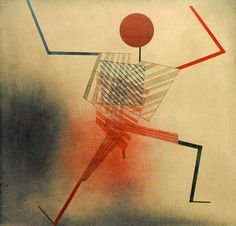 Paul Klee - Der Springer, 1930.