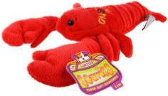 TYNE1 Plush Red Lobster New England