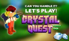Crystal Quest: Puzzle Saga #crystalquest #puzzlegame #trailervideo