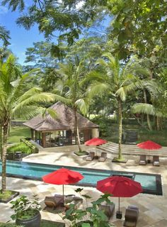 Villa The Sanctuary Bali is located in Buwit and features miniature golf. The pool at 'Villa The sanctuary' Canggu, Bali, Indonesia.  #villathesanctuarybali #bali #indonesia #travel #baliholiday #spa #pool #hotelpool #relax #baliwedding #hotelluxury