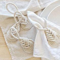 napkin rings napkin ring set by damaris kovach art. Farmhouse Napkin Rings, Farmhouse Napkins, Rustic Napkin Rings, Rustic Napkins, Beaded Napkin Rings, Diy Napkin Rings, Rideaux Design, Wood Napkin Holder, Christmas Napkins