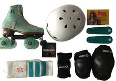 The Mother's Day gift that keeps on giving! Outdoor Roller Skates, Roller Derby Skates, Roller Skating Rink, Roller Rink, Inline Skating, Skater Girls, Snowboard, Things That Bounce, Aesthetics