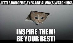 There's always a little dancer watching you! Remember that your words your manners and your work ethic make all the difference in the dancer and possible team member they may become in the future! #investinthefuture #hardworkpaysoff #dancer