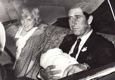 June 22, 1982: Prince Charles and Princess Diana hold their newborn son Prince…