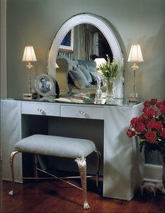 Dressing table inspiration.....
