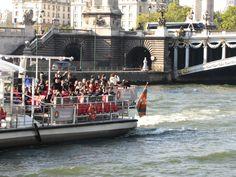 Cruising the Seine.