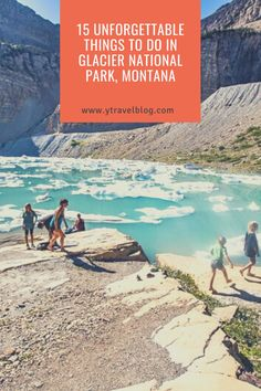 There is an endless list of fun things to see and do in Glacier Park, Montana. Check out the full list and start planning your trip on our blog. #GlacierNationalPark #NationalParkTravel #USParks #RVTrips #RoadTripIdeas #USRoadTrips #FamilyTravel Road Trip Hacks, Road Trips, Rv Travel, Family Travel, Glacier Park, Plan Your Trip, Australia Travel, Vacation Destinations, Weekend Getaways