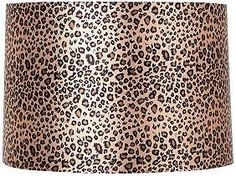 Leopard Print Drum 11-Inches-H Lamp Shade