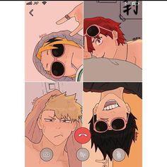 Boku No Hero Academia Funny, My Hero Academia Shouto, My Hero Academia Episodes, Hero Academia Characters, Funny Anime Pics, Cute Anime Guys, Fanarts Anime, Anime Films, Bakugou Manga