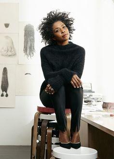 Artist Lorna Simpson