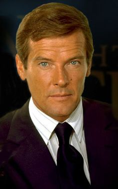 """Roger Moore, he was one of the sexy """"Bond"""" men....also our neighbor in the building. We had the same housekeeper."""
