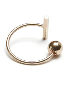 GOLD - RING, Gold Colour