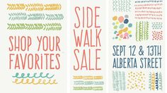 Alberta Sidewalk Sale 2015