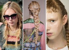 Spring/ Summer 2017 Hairstyle Trends: Thick Braids