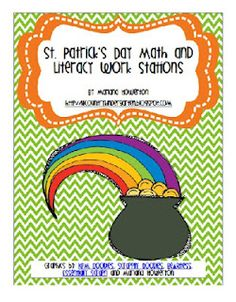 St. Pat's Day and -ot word family printables