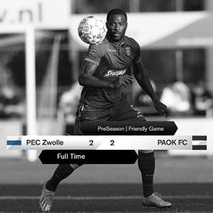 #PECPAOK 2-2 #FriendlyGame #PreSeason #OwnTheTop Scores, Finals, Seasons, Games, Movies, Movie Posters, Films, Seasons Of The Year, Film Poster