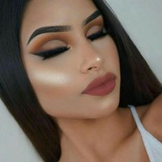 Pin by Sandra Arvizu on Make up ideas Gorgeous Makeup, Pretty Makeup, Love Makeup, Makeup Inspo, Makeup Inspiration, Makeup Is Life, Makeup Goals, Makeup Tips, Beauty Makeup