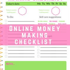 online-money-making-checklist-printable
