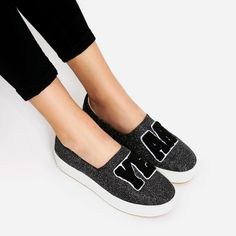 PATCHES PLATFORM PLIMSOLLS-Sneakers-SHOES-WOMAN | ZARA United States