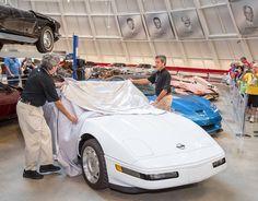 Motor'n | Chevrolet Fulfills 1 Millionth Corvette Restoration Pledge