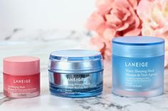 Wake Up to Beautiful Skin and Lips with Laneige Sleeping Masks - Perilously Pale