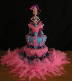 Rio cake by Torki's Sugar Art, via Flickr