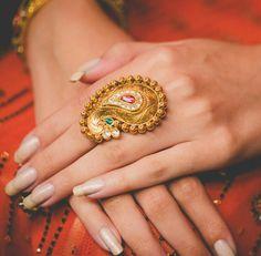 Traditional Koyali Design Ring