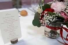 Réception de mariage de Delphine et Lionel 27/4/2019 Brest, Delphine, Bouquets, Table Decorations, Flowers, Home Decor, Weddings, Decoration Home, Bouquet