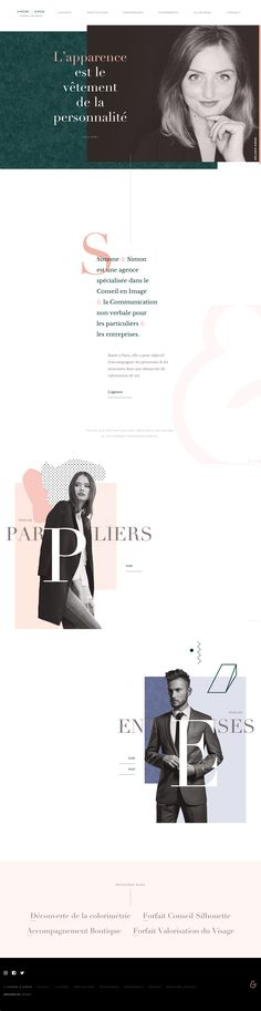 simone-simon.fr #web #design