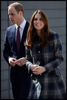 Prince William and Kate Middleton Visit Glasgow 2