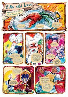 """""""O Rei está Louco"""" (with Daniela Viçoso) page #1"""