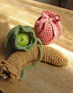 Okay.  The designer REALLY tried to sell this as a fruit cozy . . . however, we all know what it looks like, and then they position two round fruit cozies along side.  REALLY?