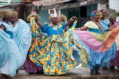 Cultural Preservation in Panamá: Festival de la Pollera Congo in Portobelo, Colón
