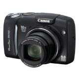 Canon Powershot SX110IS 9MP Digital Camera with 10x Optical Image Stabilized Zoom (Black) (Electronics)By Canon