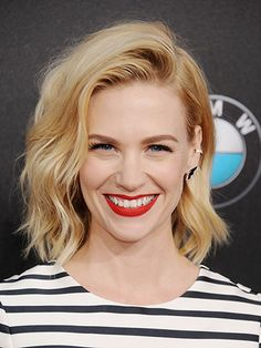 15 Completely Chic Ways to Style Fine Hair These cuts and updos will make your hair look incredible. By Jennifer Conrad - January Jones