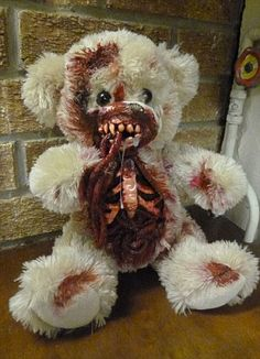 """ZOMBIE Teddy Bears!!!!! """"Undead Teds"""" by Phillip Blackman"""