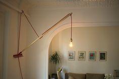 Lampe murale télescopique à partir d'un rateau Step 06 01.JPG