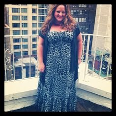 New Post:   OOTD: Leopard to the max - The Juicer. What I wore to the #sonsifffweek Press Reception featuring @lanebryant @target #plussize #style #fashion #summerstyle #thejuicer