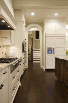 I like the staircase right off the kitchen
