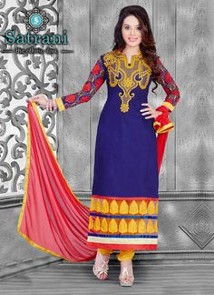 Beautiful Salwar Suit For Ethnic Collection(242D)  Please visit below link http://www.satrani.com/salwar-suits&catalog=579  For more queries,  email id: inquiry@satrani.com Contact no.: 09737746888(whats app available)