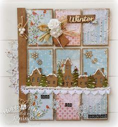 Jenine's Card Ideas: Pocket Letters Home for Christmas