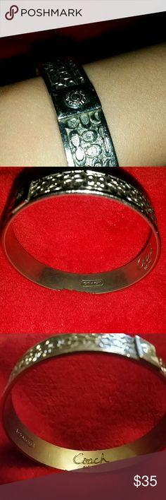 COACH BRACELETS Gently Used Coach Jewelry Bracelets