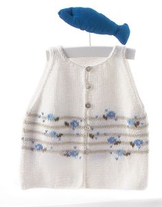 Book Baby 60 Spring / Summer | 17: Baby Jacket | White / Light jeans / Sky blue / Very light beige
