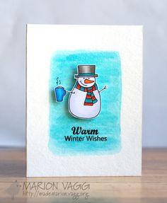 Warm Winter Snowman Wishes | Marion Vagg