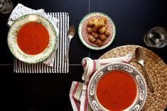 Tomato Zucchini Soup