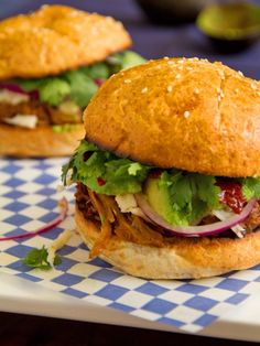 The Cemita – Mexican Pulled Pork Sandwich from