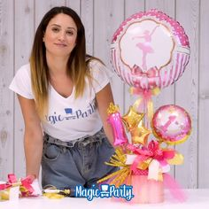 Balloon Box, Balloon Gift, Balloon Bouquet, Balloon Centerpieces, Balloon Decorations, Girl Birthday, Birthday Gifts, Magic Party, Gift Bouquet