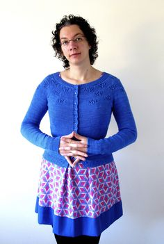 Ravelry: Project Gallery for Peacock Eyes Cardigan pattern by Justyna Lorkowska