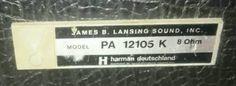 JBL PA 12105 K Boxen Lautsprecher in Speyer - Dudenhofen | Musikinstrumente und Zubehör gebraucht kaufen | eBay Kleinanzeigen